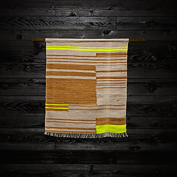 Linear Weaving by Dee Clements and Michelle Kohanzo
