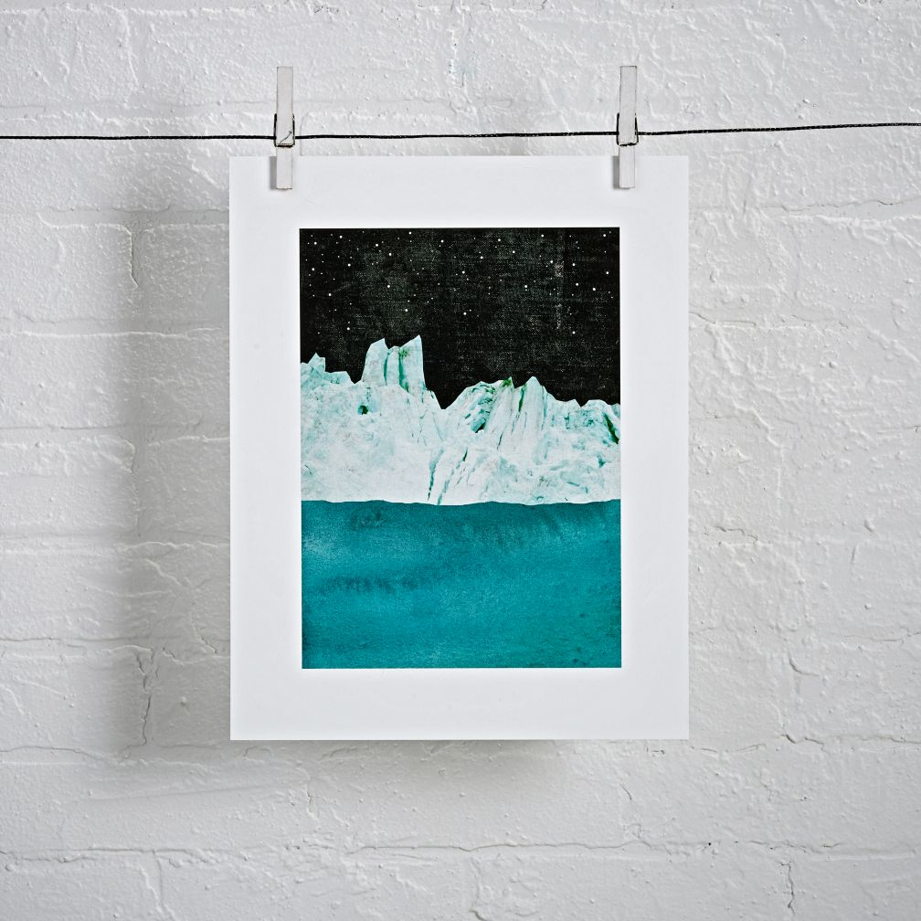 Arctic Night Unframed Wall Art