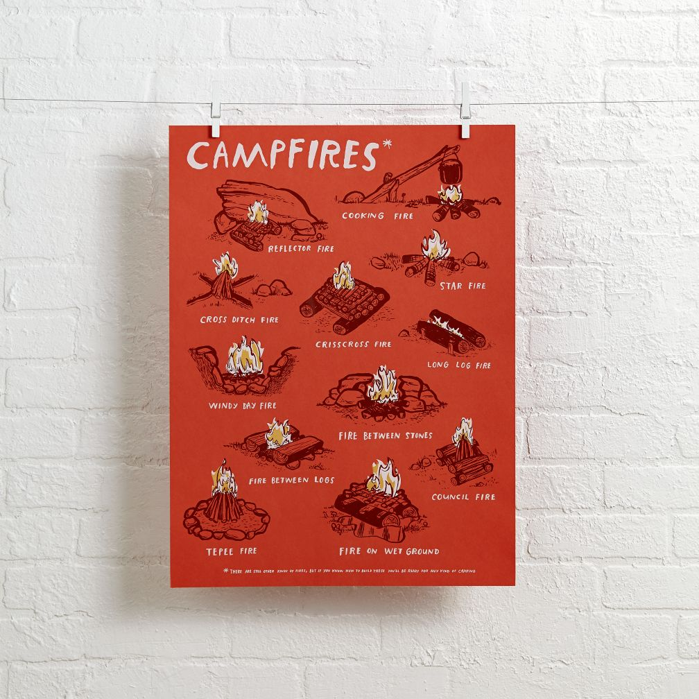 Campfires Wall Art