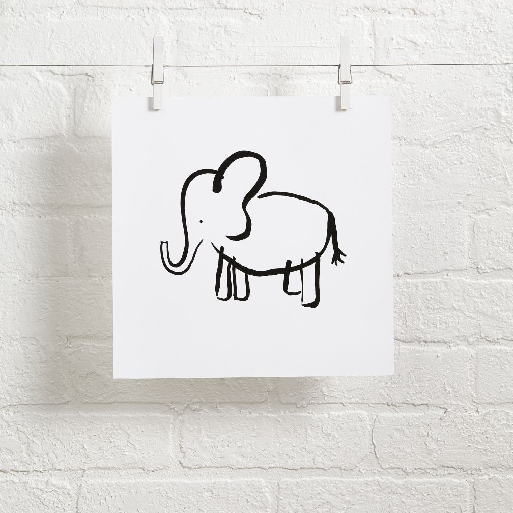 Linda and Harriett Wall Art (Elephant)