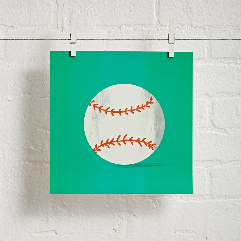 Sports Wall Art (Baseball)