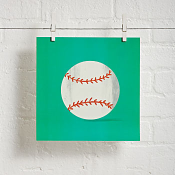 Baseball Sports Wall Art
