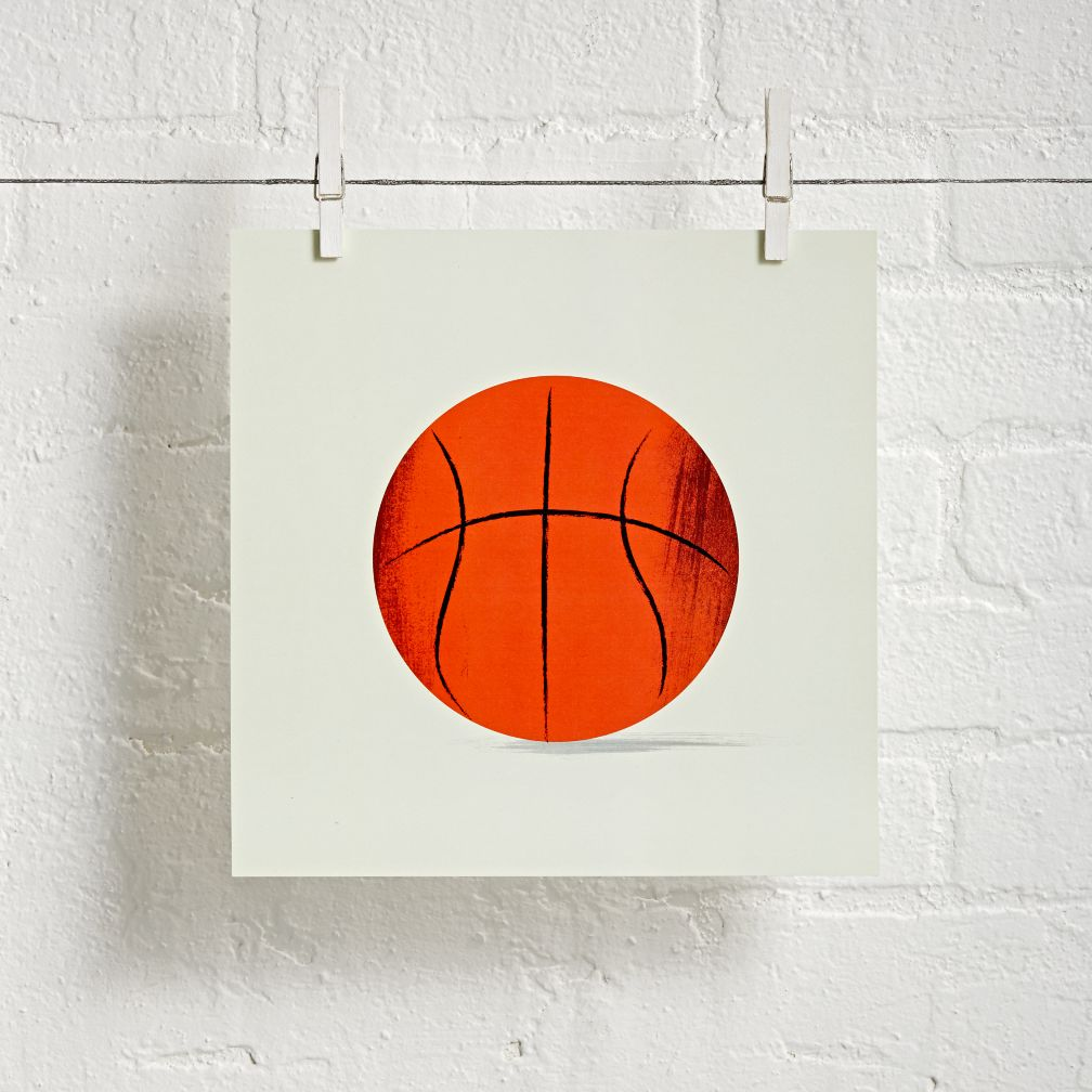 Sports Wall Art (Basketball)