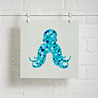 Octopus Unframed Under the Sea Wall Art