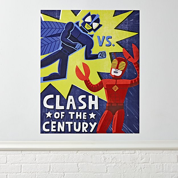 Clash of the Century Poster Decal