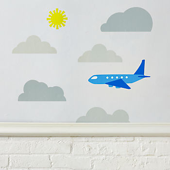 Up in the Sky Decals