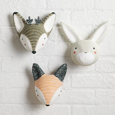 Wall_Decor_Animal_Head_Group