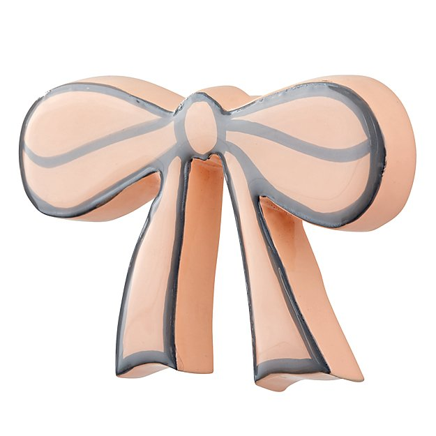 Pink Bow Wall Hook