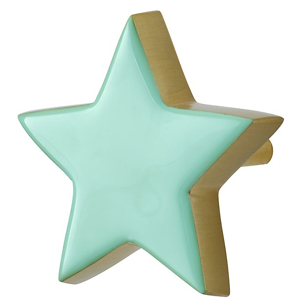 Twinkle Twinkle Mint Wall Hook