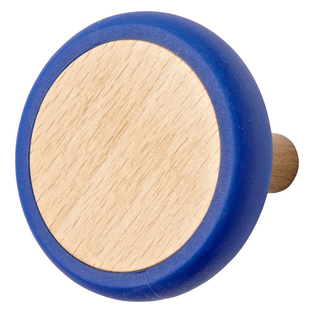 Blue Joystick Wall Knob