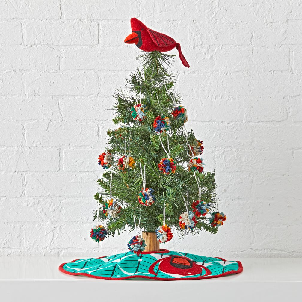 Design Christmas Decorations For Kids christmas decorations for kids the land of nod charley harper wee tree set