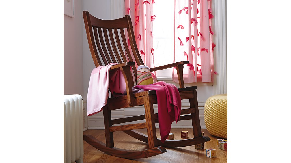 Classic Wooden Rocking Chair