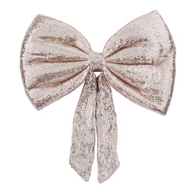 Giant Sequin Bow (Pink)