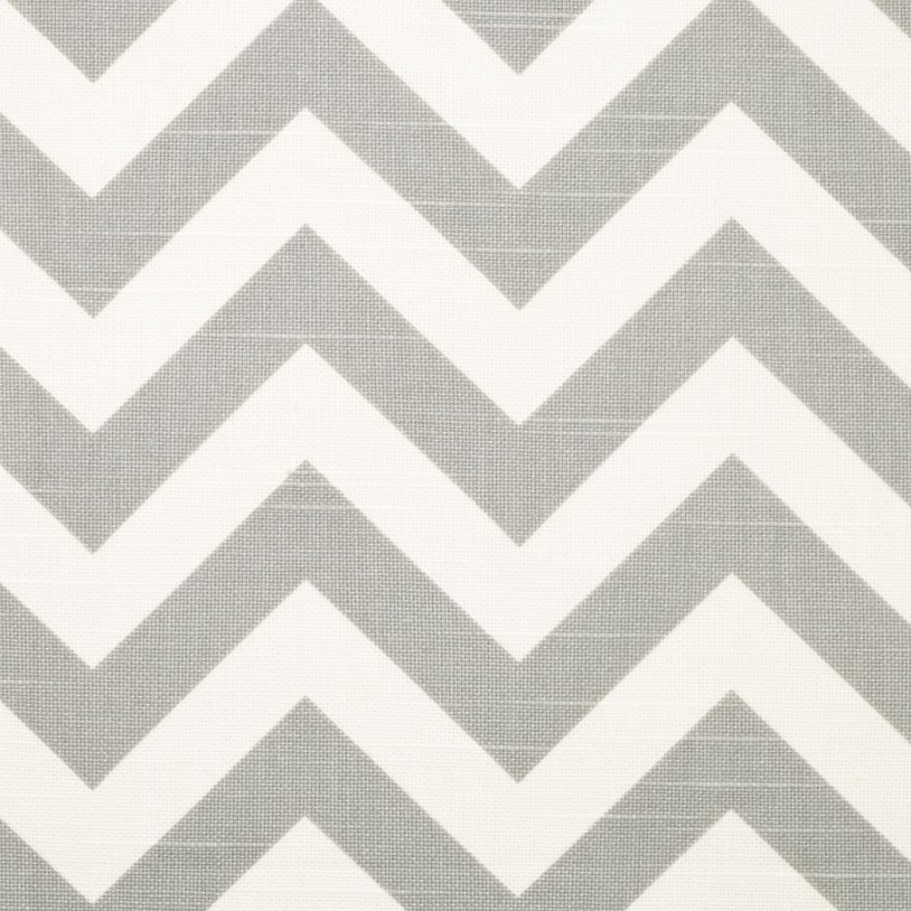 Zig Zag Grey and White