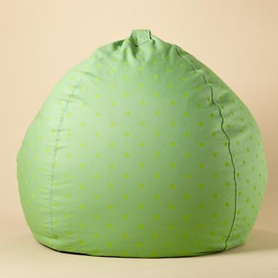 "40"" Green Dots Ginormous Bean Bag"