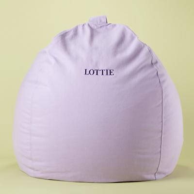 "40"" Lavender Personalized Ginormous Beanbag"