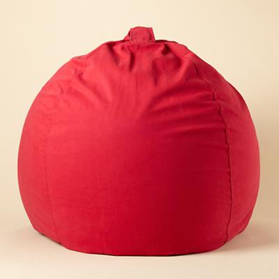 "40"" Red Ginormous Bean Bag Cover"