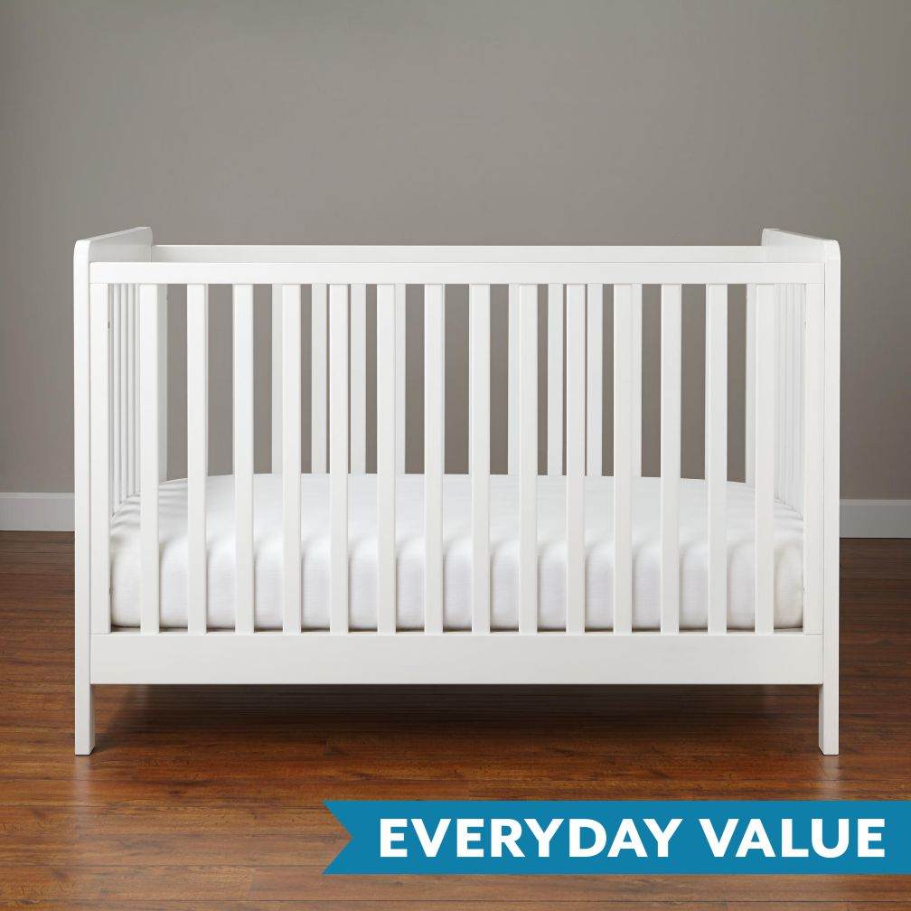 Carousel Crib (White)