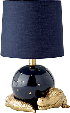 Genevieve Gorder Alligator Table Lamp