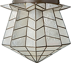 Genevieve Gorder Star Ceiling Light
