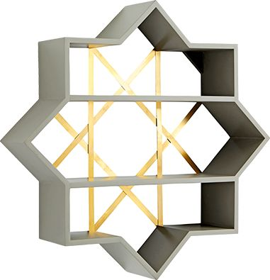 Genevieve Gorder Star Wall Shelf