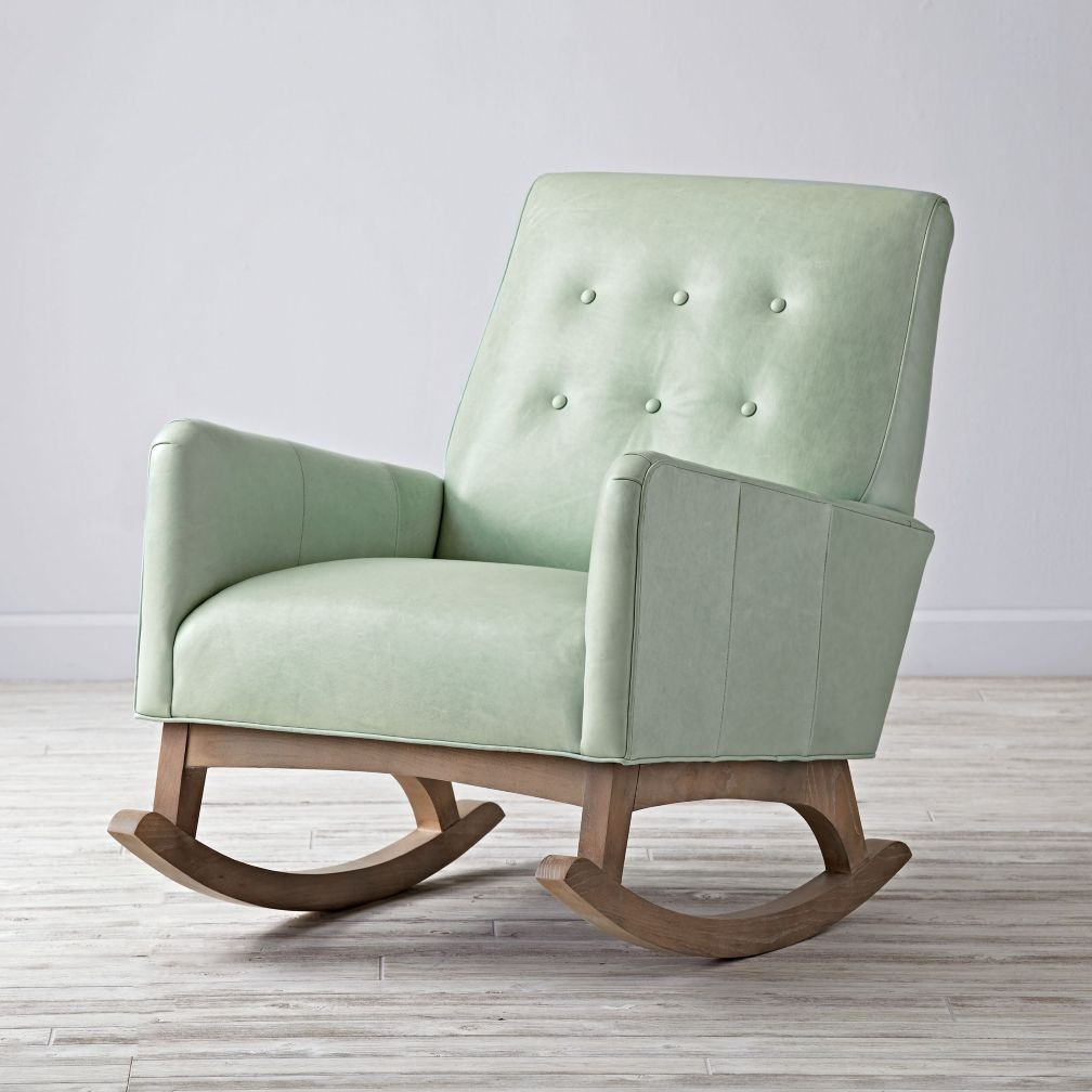 Everly retro rocking chair the land of nod for Rocking chair