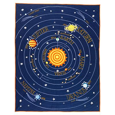 All Solar Systems Go Quilt (Full-Queen)