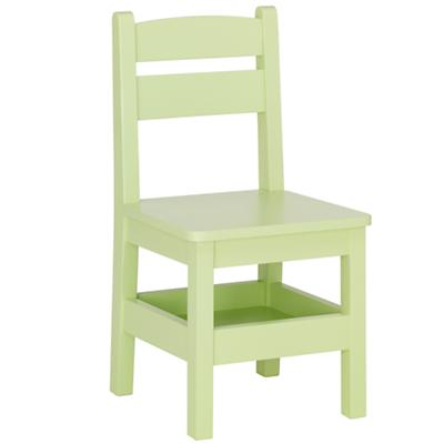 Spring Green Storage Chair
